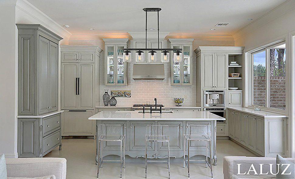 lnc downlight linear pendant lighting transitional kitchen