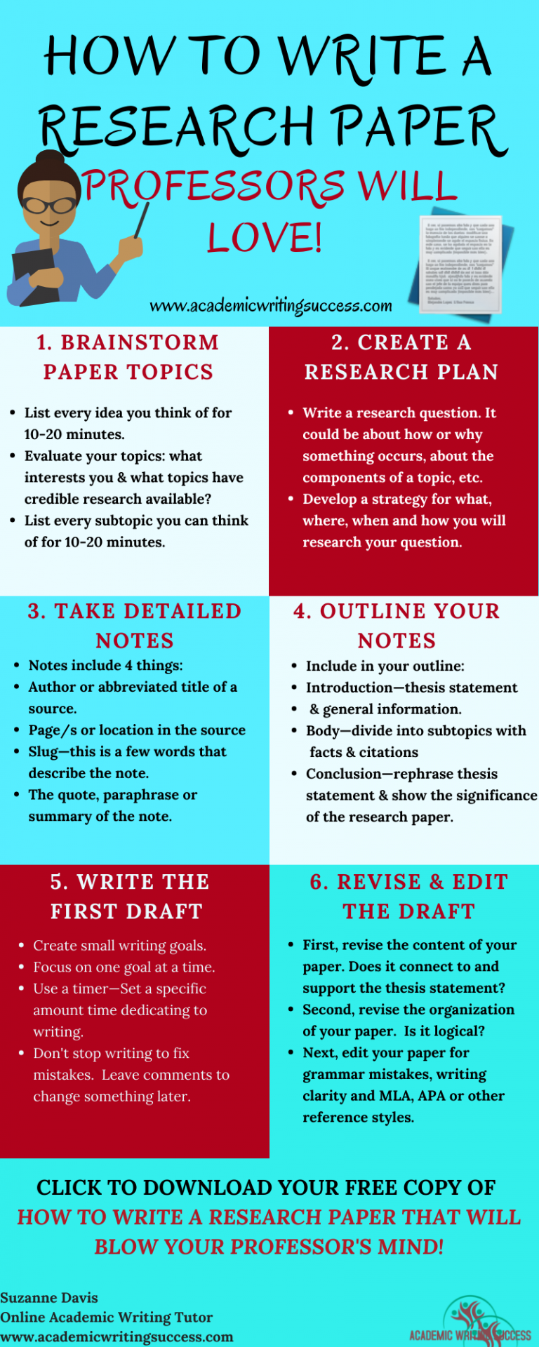 How To Write A Research Paper Professors Will Love Academic Writing Success In 2020 Essay Writing Skills College Writing Essay Writing Tips