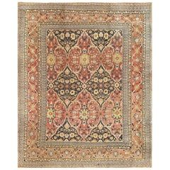 17th Century Persian Khorassan Carpet Size 9 Ft 10 In X 15 Ft 9 In In 2020 Rugs On Carpet Persian Carpet