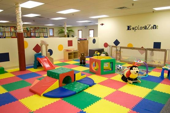 Outdoor And Indoor Playground Rubber Mats Flooring Ideas