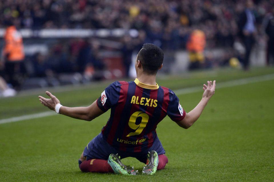 Alexis Sanchez in FC Barcelona
