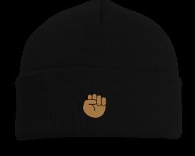Buy Black Black Fist Emoji Beanie Buy Noir Black Fist Buy Black Black