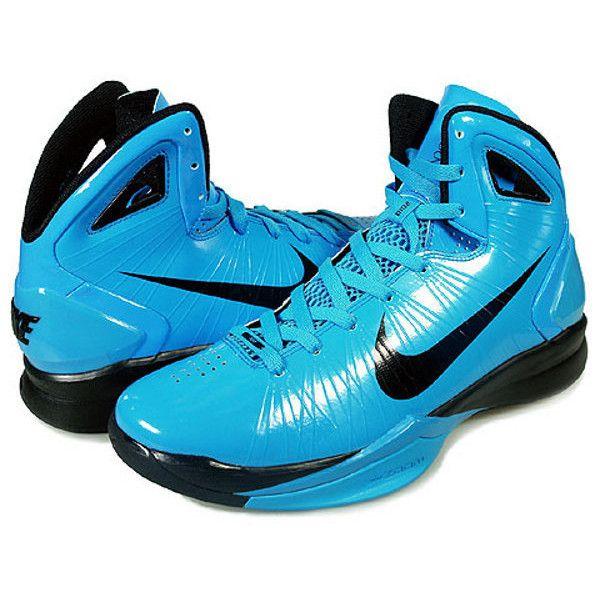 a8d6f98bc20c Nike Hyperdunk 2010 Mens Highlighter Hyper Blue via Polyvore ...