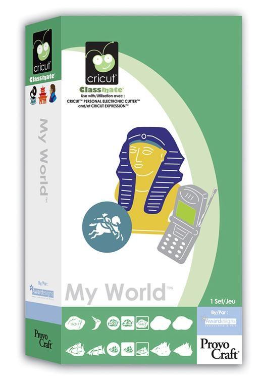 My World Cricut Cartridges Cricut Cricut Expression