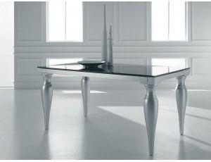 Kimera tavolo allungabile in vetro - Tavolo rettangolare allungabile ...