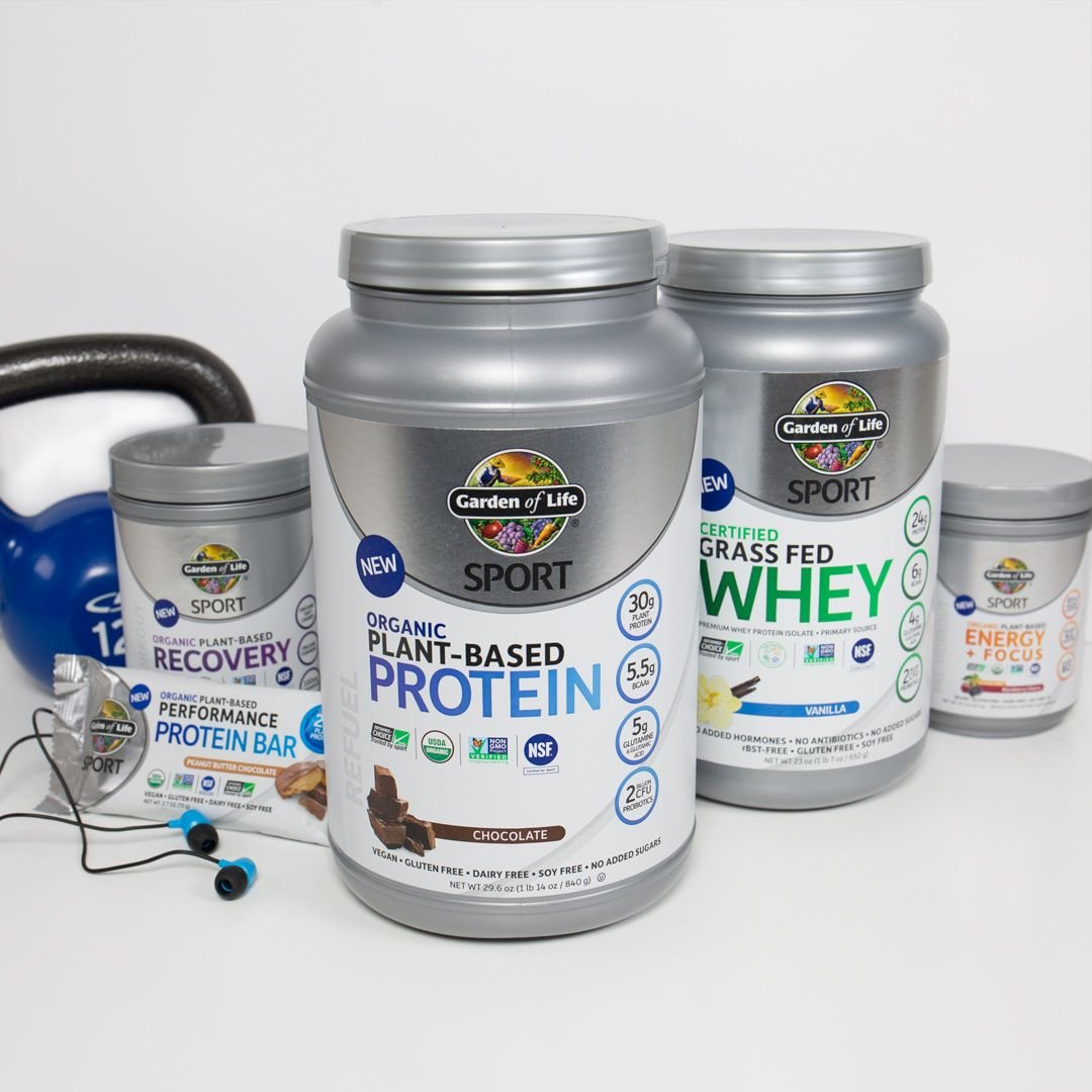 Introducing Garden of Life SPORT, the cleanest performance