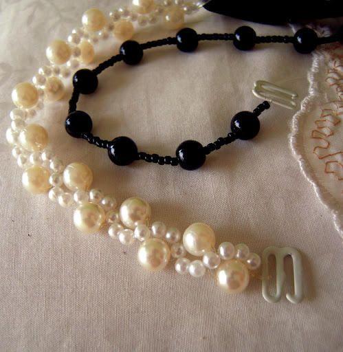 pearls bra