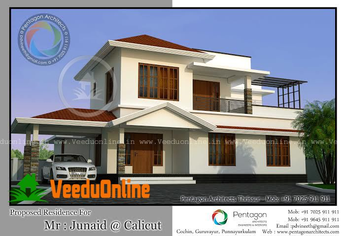2019 square feet amazing and beautiful kerala home designs gize rh pinterest com  kerala house design 2019