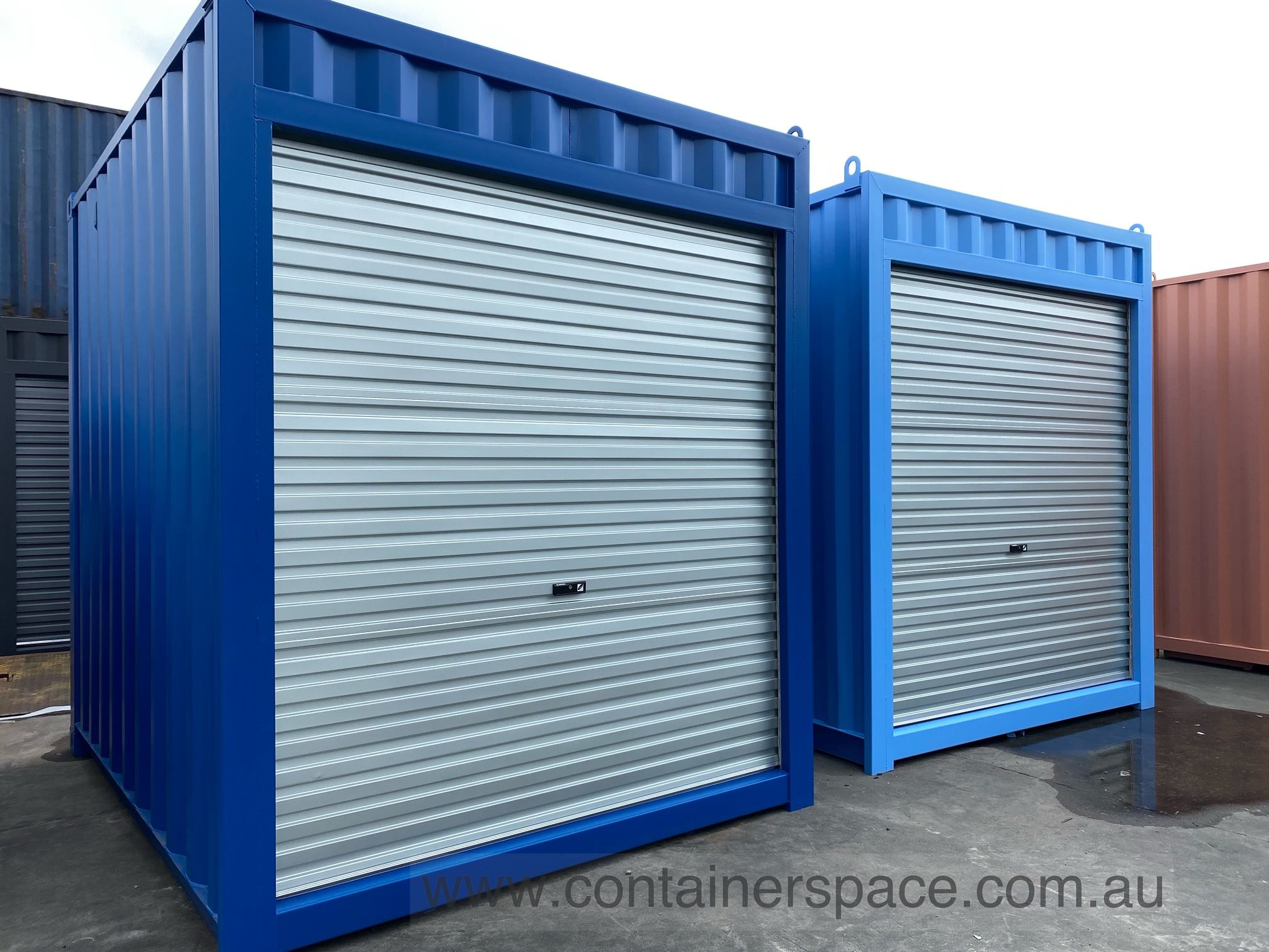 Shipping Containers For Sale In Melbourne Containerspace In 2020 Containers For Sale Shipping Containers For Sale Roller Doors