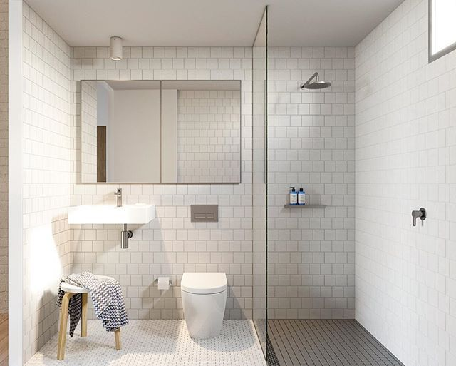 Three Different Types Of Tiles In Such A Small Space Yes You