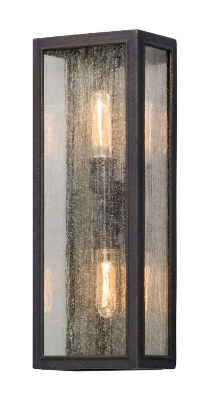 view the troy lighting b5103 dixon 2 light 8 wide outdoor wall