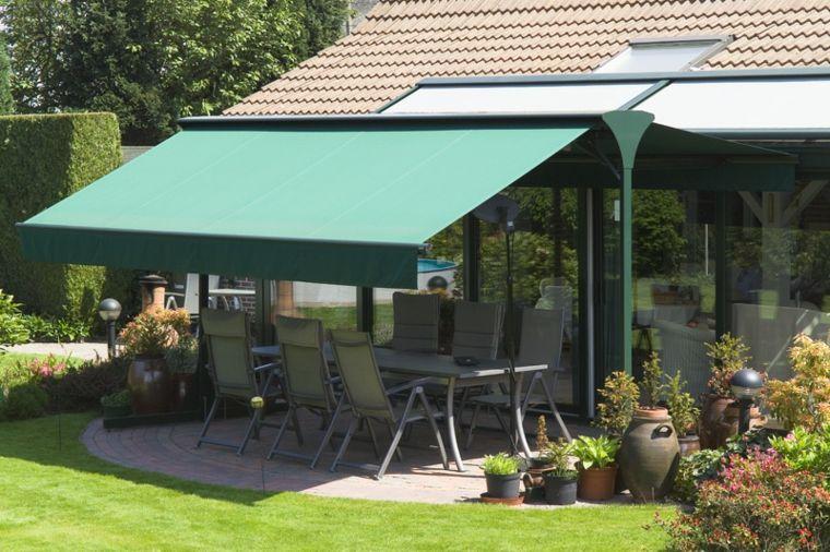 diseños de toldos para balcones y terrazas Jardín Pinterest