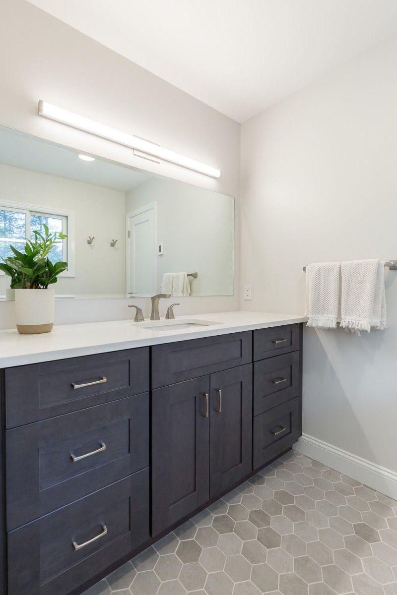 A House Reclaimed In 2020 Bathrooms Remodel Modern Kitchen Renovation Sleek Bathroom