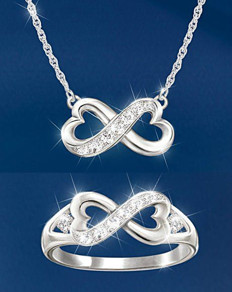 Daughter forever in my heart diamond necklace and ring set daughter forever in my heart diamond necklace and ring set aloadofball Choice Image