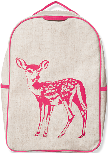 So Young Grade School Backpack - Pink Fawn