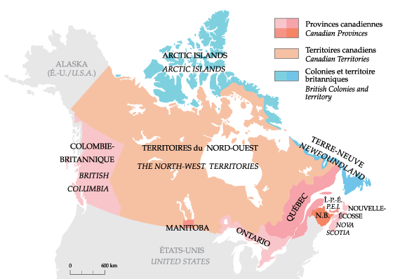 Map Of Canada In 1873 Historical Maps 1873 | Social studies maps, Map skills, Social studies