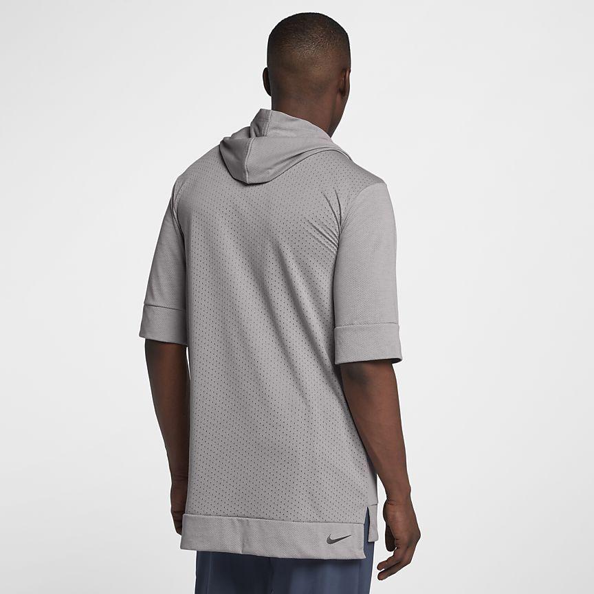 c1223c8f3a43 Sweat à capuche de running à manches courtes Nike Tailwind pour Homme