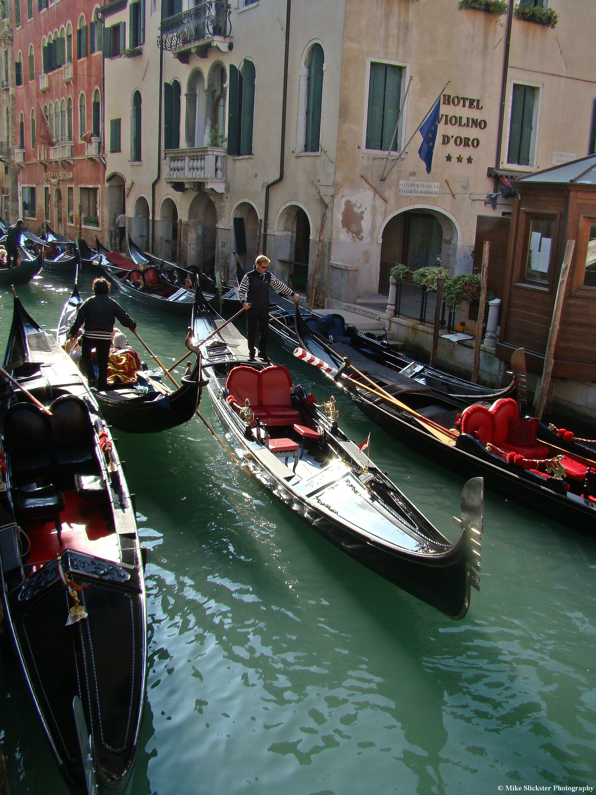 Gondoliers in San Marco San marco, Italy, Boat