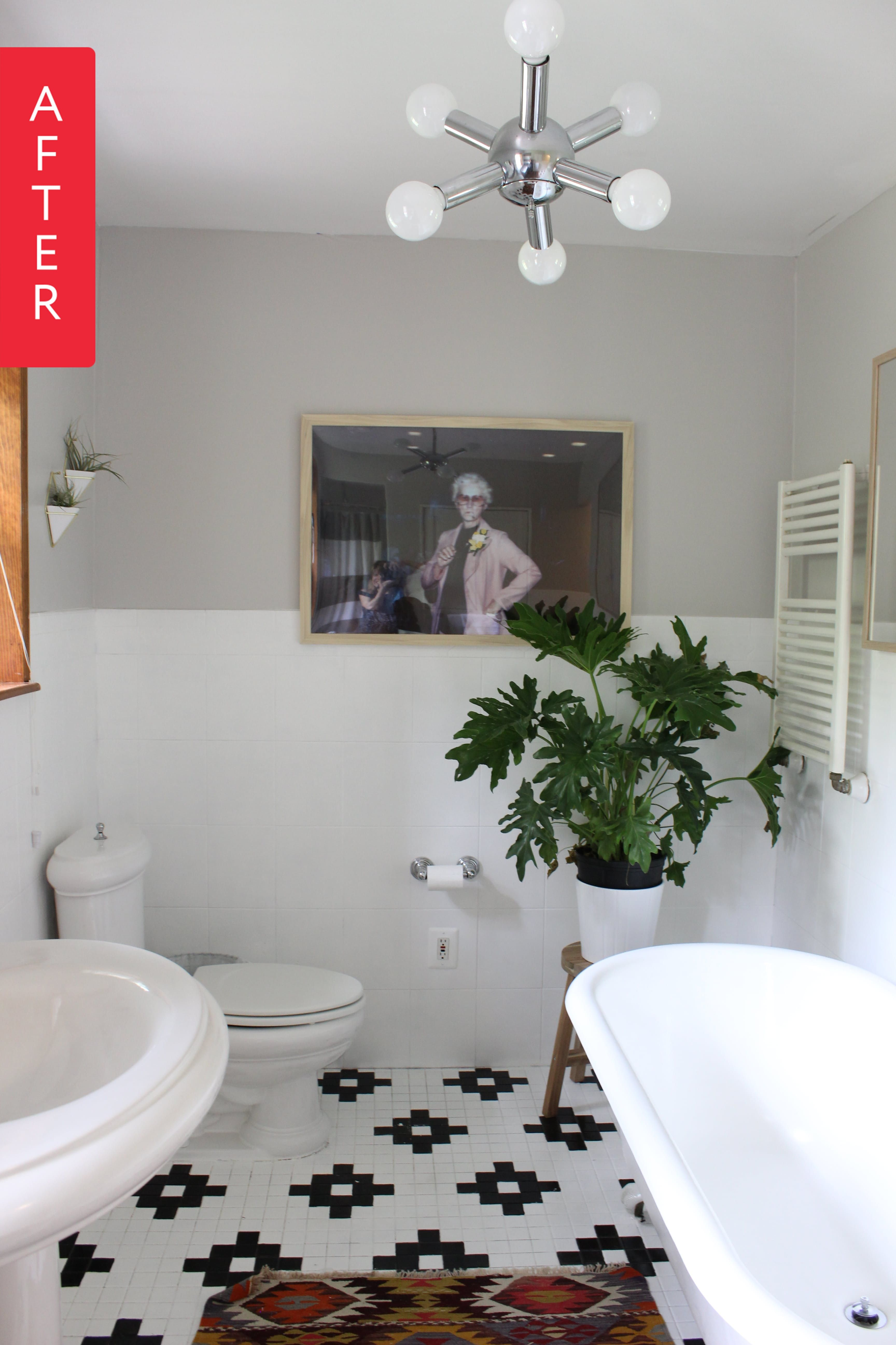 Before & After: A Truly Amazing Tile Turnaround | Room ...