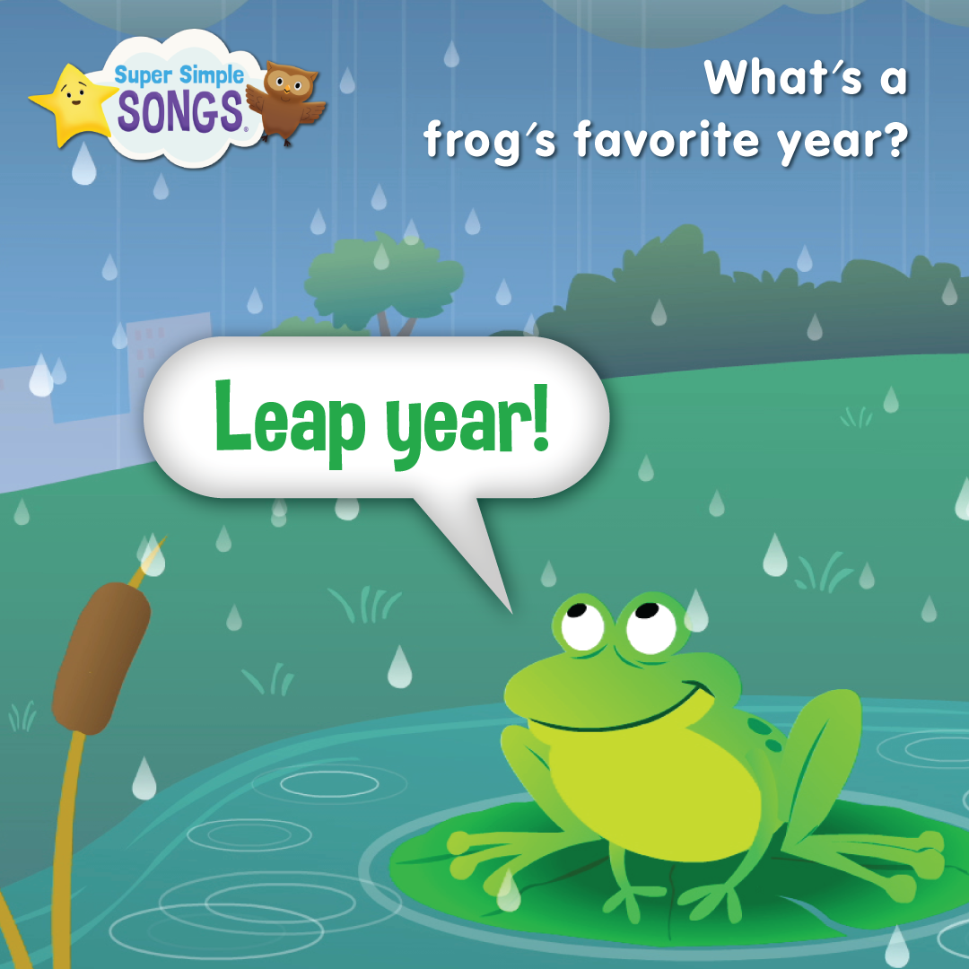 Q What S A Frog S Favorite Year A Leap Year