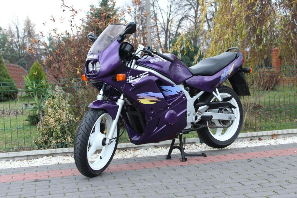 Suzuki Gs 500 Owiewki Five Stars Niemiec A2 Cb Er5 Moped Motorcycle Vehicles