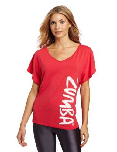 5825e83079 Amazon.com: Zumba Fitness LLC Womens Flaunt It Fancy Top: Clothing ...