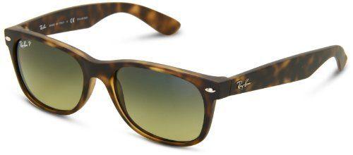 Ray-Ban Wayfarer 89476 Polarized Wayfarer Sunglasses,Matte Havana,55 mm Ray-Ban. $175.00