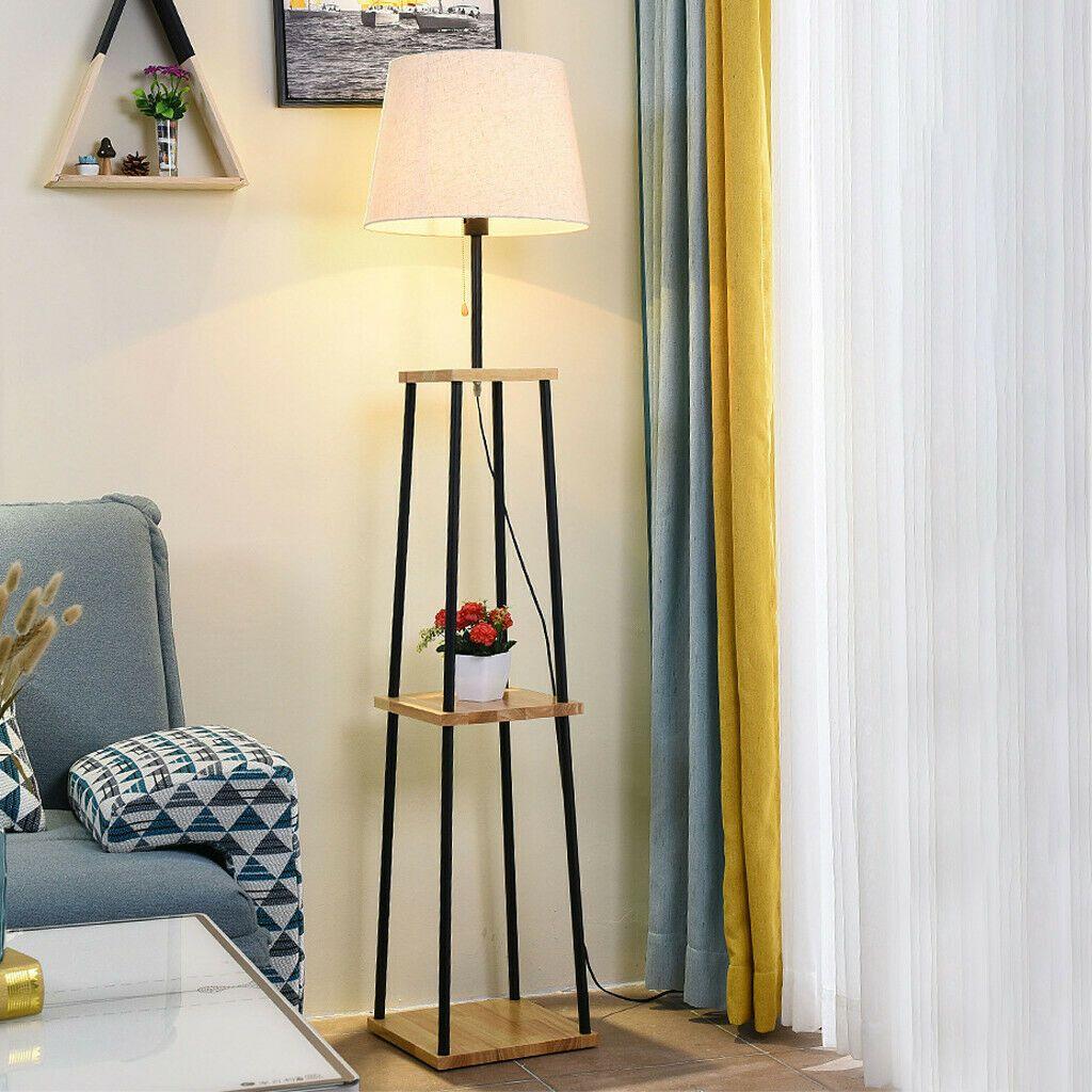 Pin On Shelf Floor Lamps