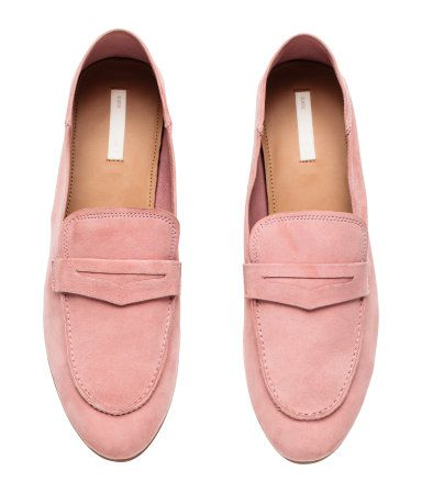 586f71134a1 h m power pink suede loafers