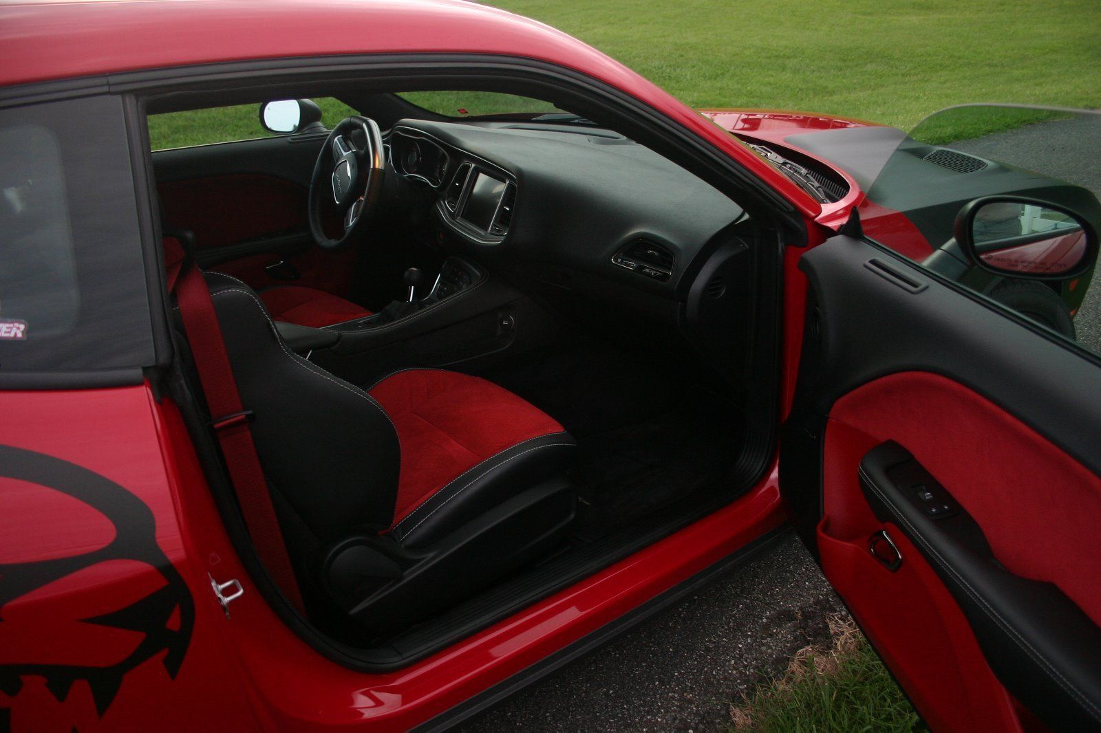 Dodge Hellcat Red Interior Dodge Challenger Pinterest Dodge