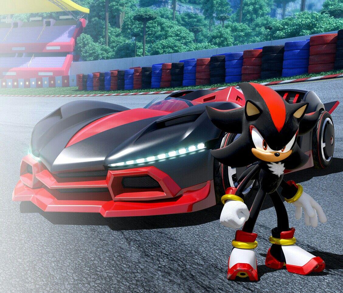 Team Sonic Racing Shadow The Hedgehog Shadow The Hedgehog Sonic And Shadow Sonic
