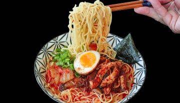 Photo of Korean Spicy Beef Ramen Recipe & Video – Seonkyoung Longest
