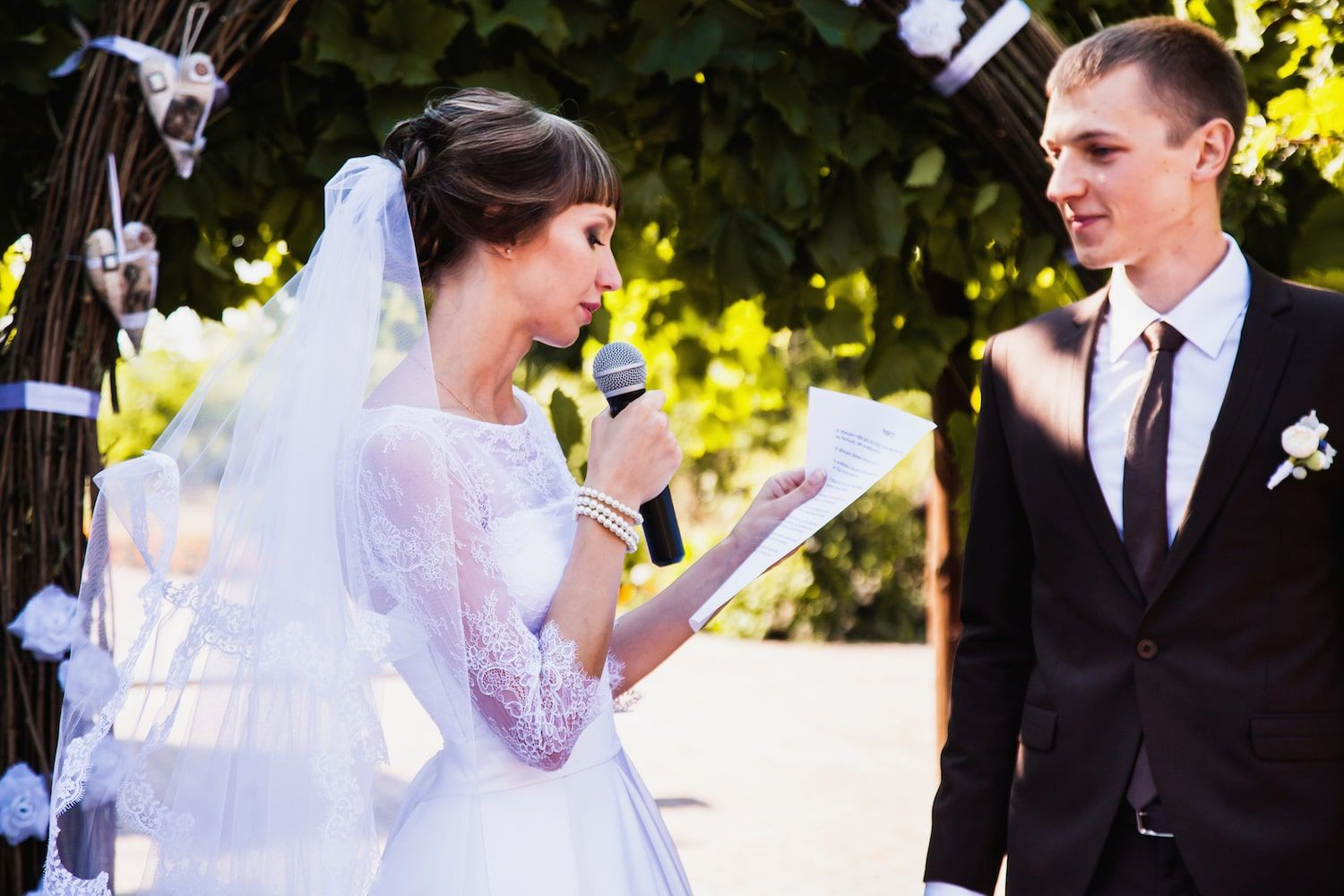 Writing your wedding vows can be a challenge for a number