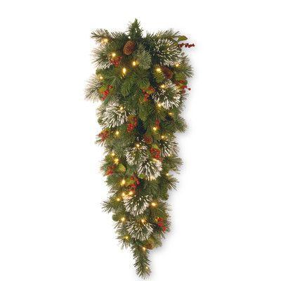 National Tree Co. Wintry Pine Teardrop