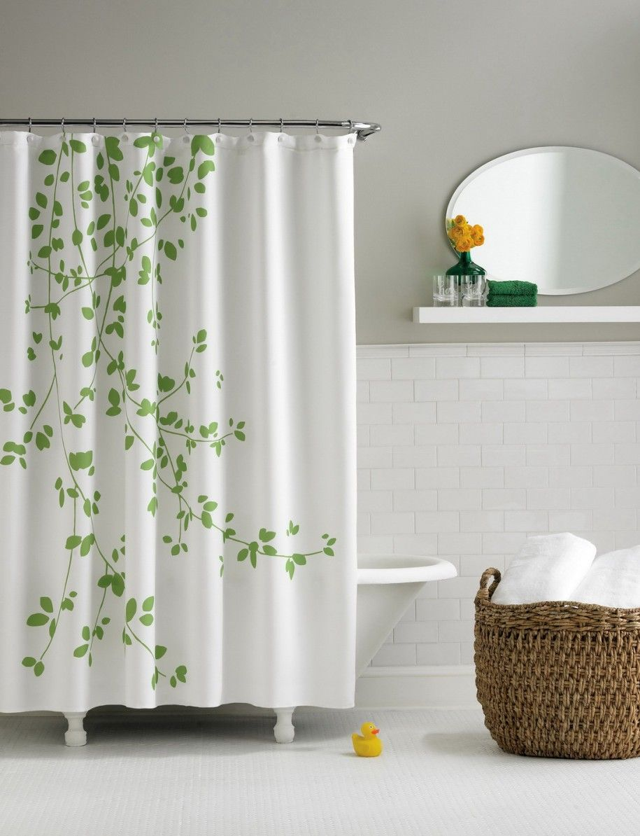 Bathroom design shower curtain - Beautiful Bathroom Design With Modern Shower Curtains Modern Shower Curtains Layout