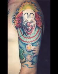 Clown tattoo body artiste pinterest clown tattoo for Clown mask tattoos