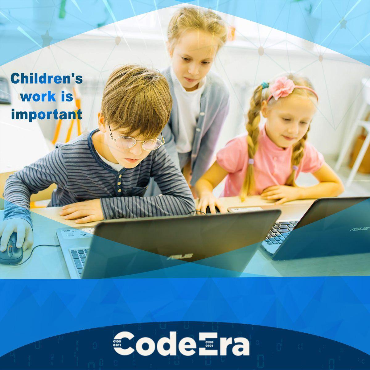 أهمية تعليم الأطفال البرمجة Working With Children Childrens Bowl