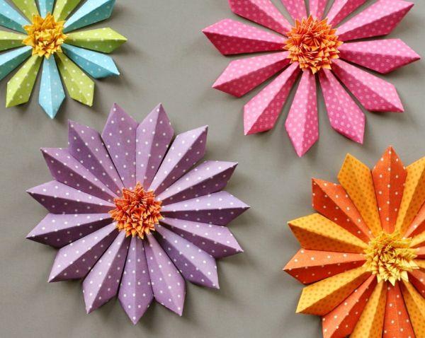 Tischdeko frühling basteln mit kindern  Aus Frühlingsblumen basteln Sie herrliche Deko für Ihr Zuhause ...