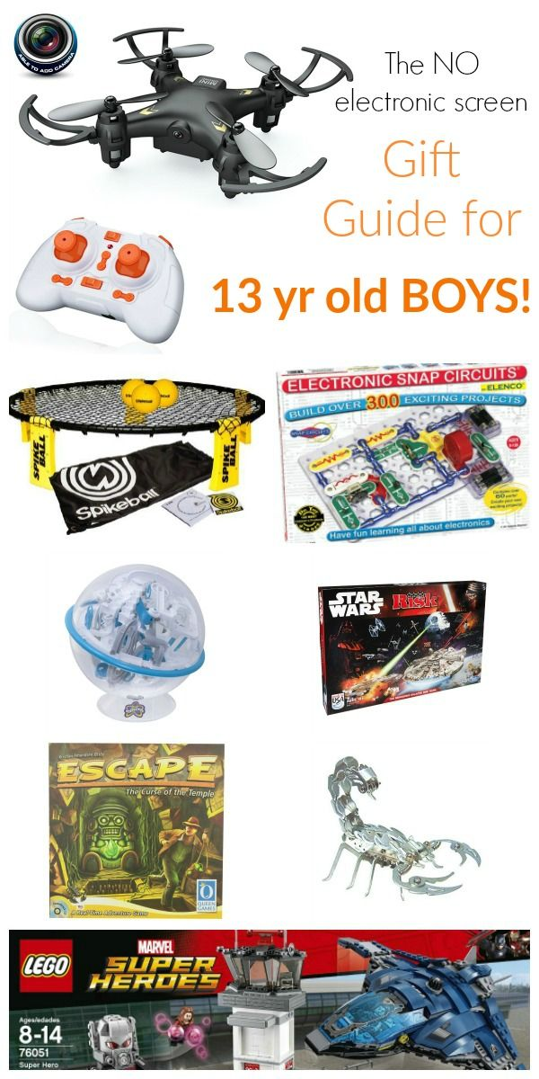 Gift Guide for 13 Year Old Boys | Gift and Babies