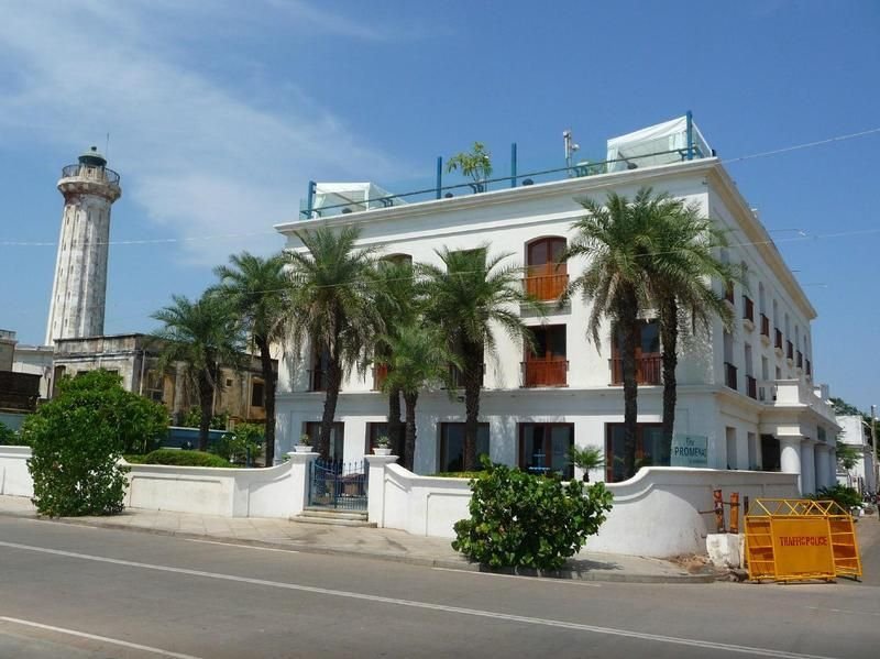 Pondicherry The Promenade Hotel India Asia Located In White Town French Colony