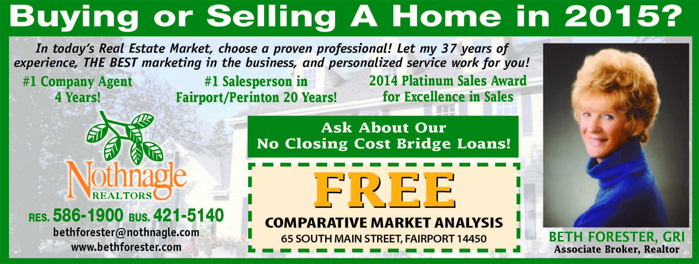 Save While Buying Or Selling Your Home By Choosing Beth Forester