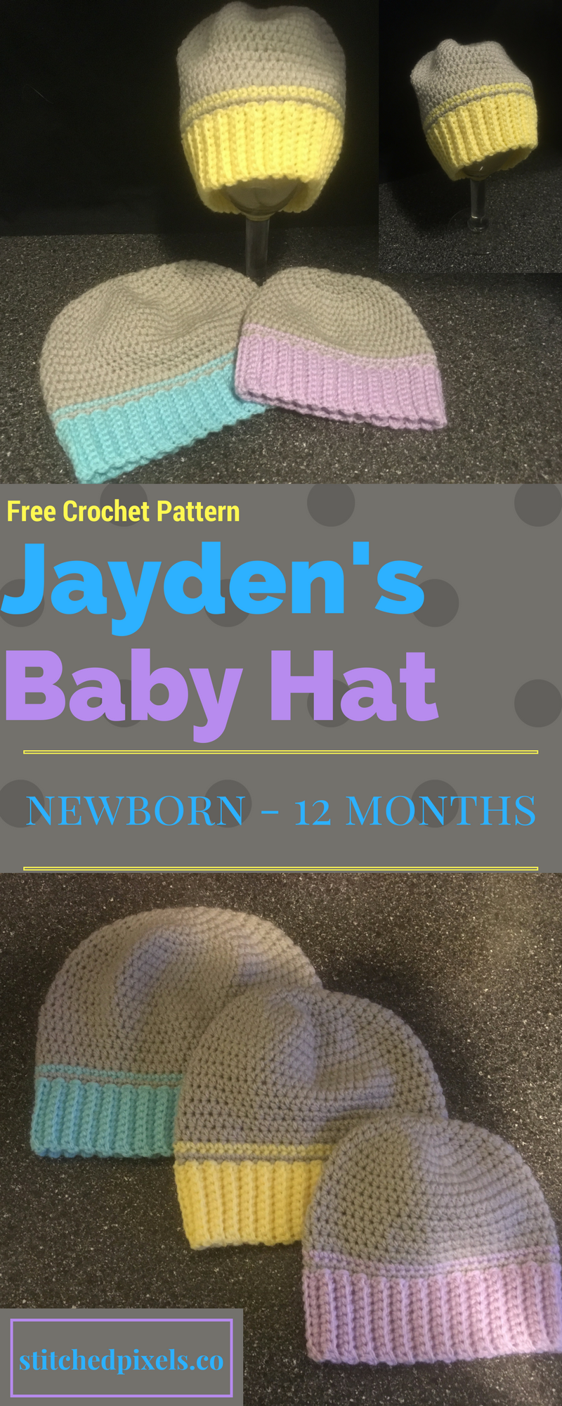 This is the first piece in my new 3 part Jayden s Baby Set of crochet  patterns ddd7e46295a5