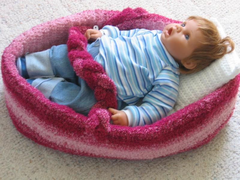 Vintage Crochet Pattern Angel Pillow Doll Bed Doll Music Box | Etsy | 600x800