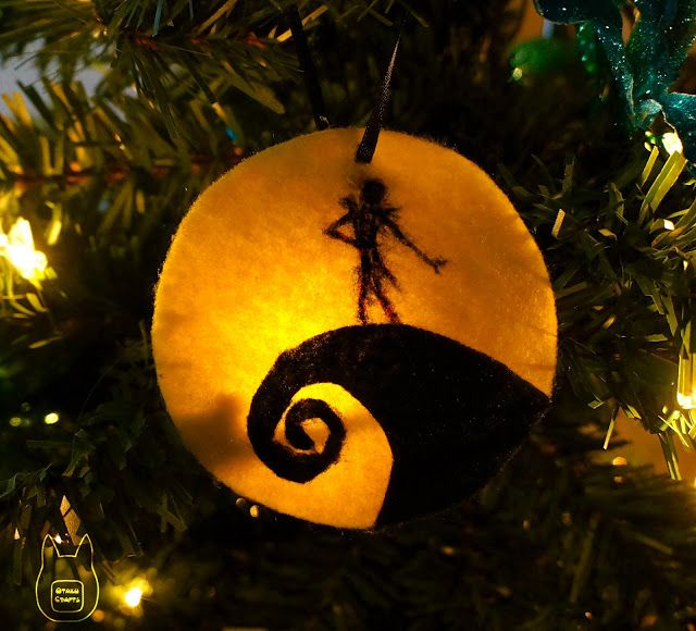 Nightmare Before Christmas Ornament With Images Nightmare