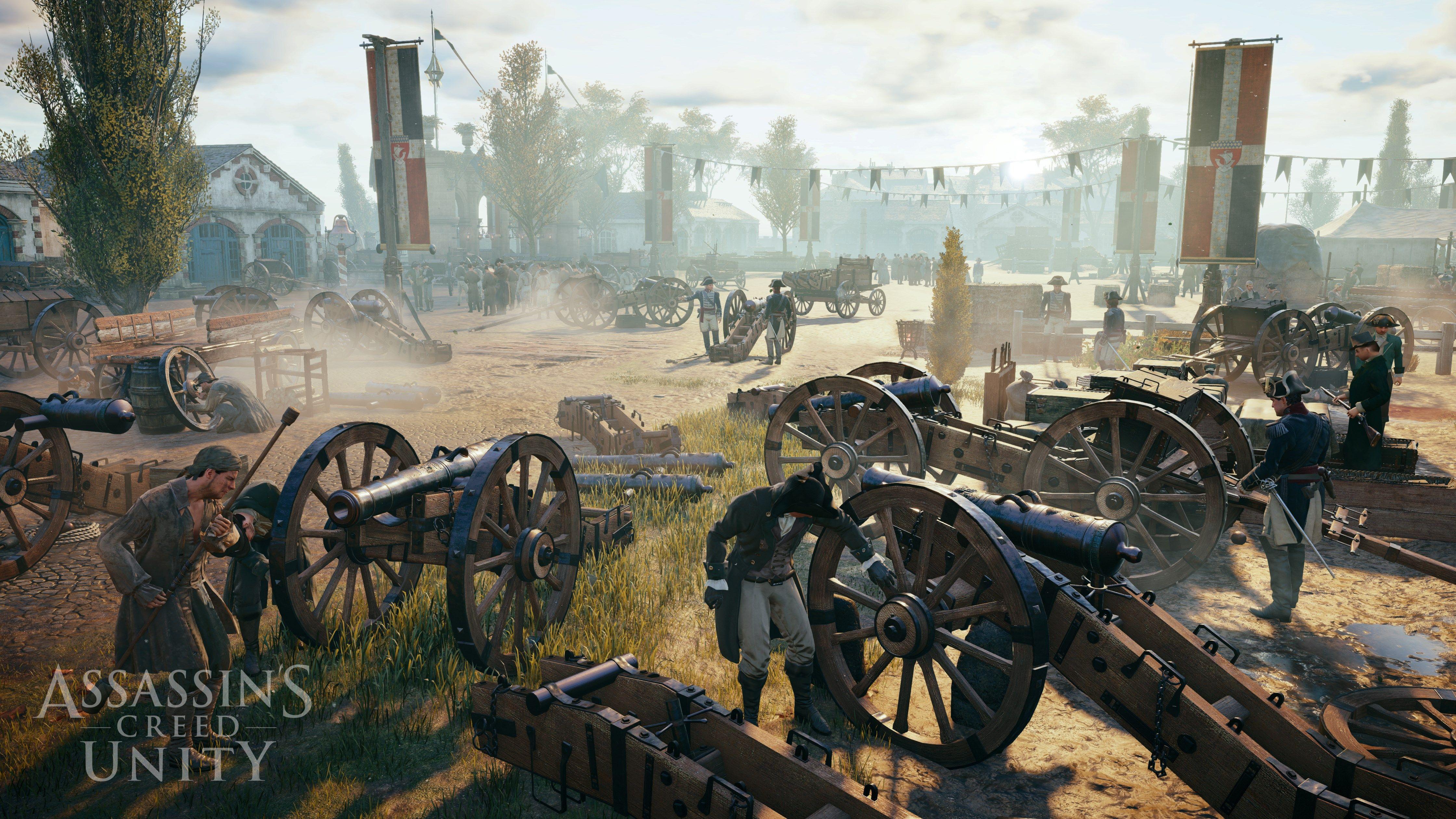 HQ Definition Wallpaper Desktop Assassins Creed Unity By Thorndike Little 2017 03
