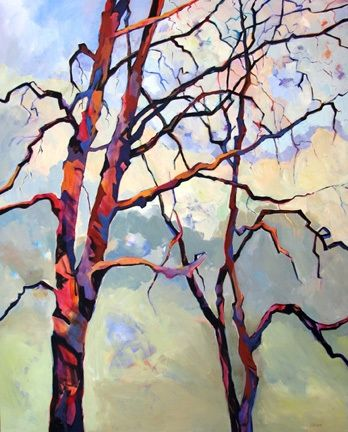 Entanglements, painting by artist Carolee Clark