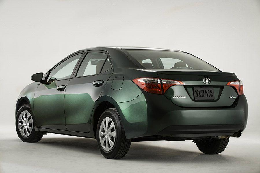 Nuevo Toyota Corolla 2014 Trasera Color Verde Toyota Corolla Corolla Altis Corolla