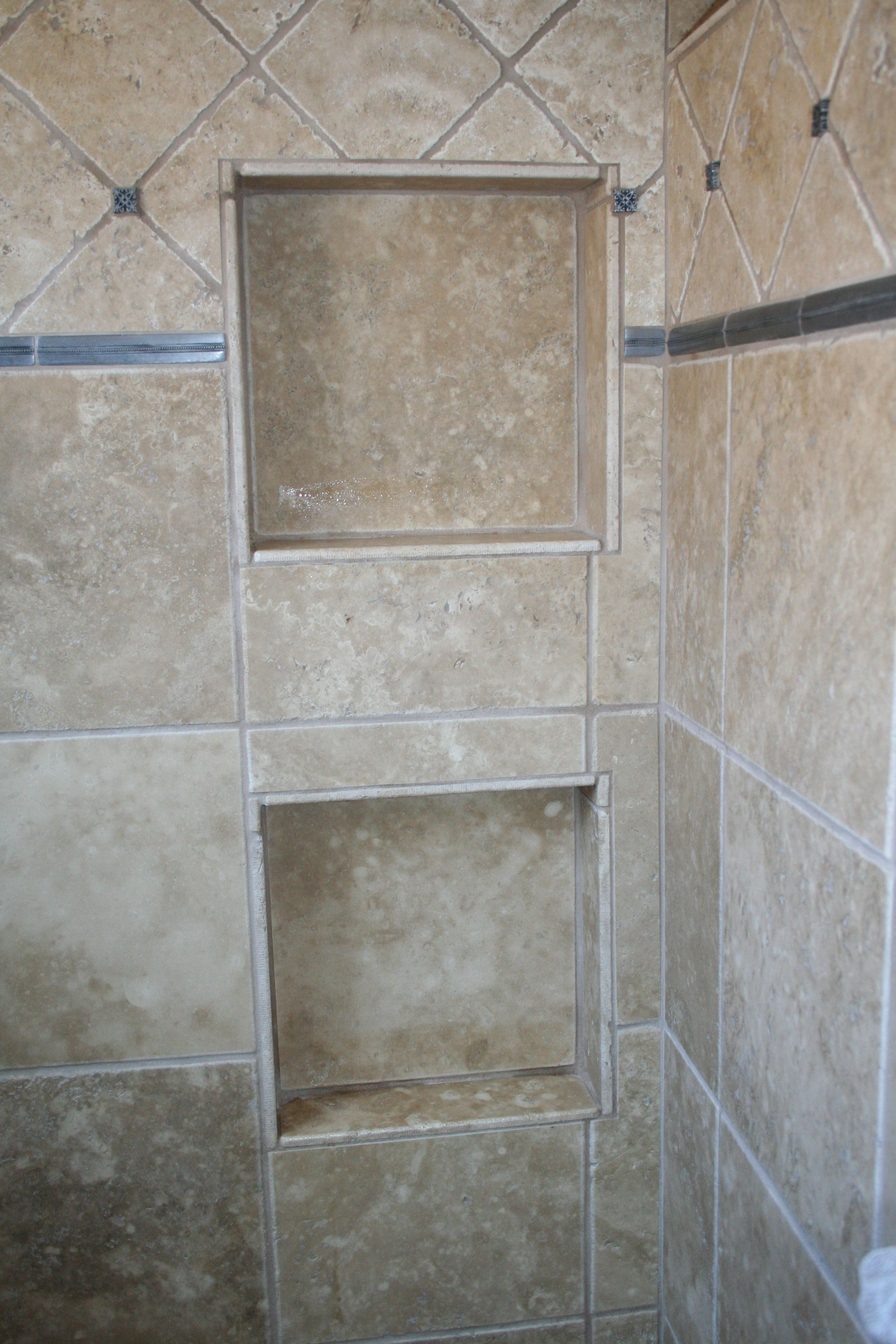 duk liner, shower shelf, niche, shampoo, shower box | STYLED WITH ...