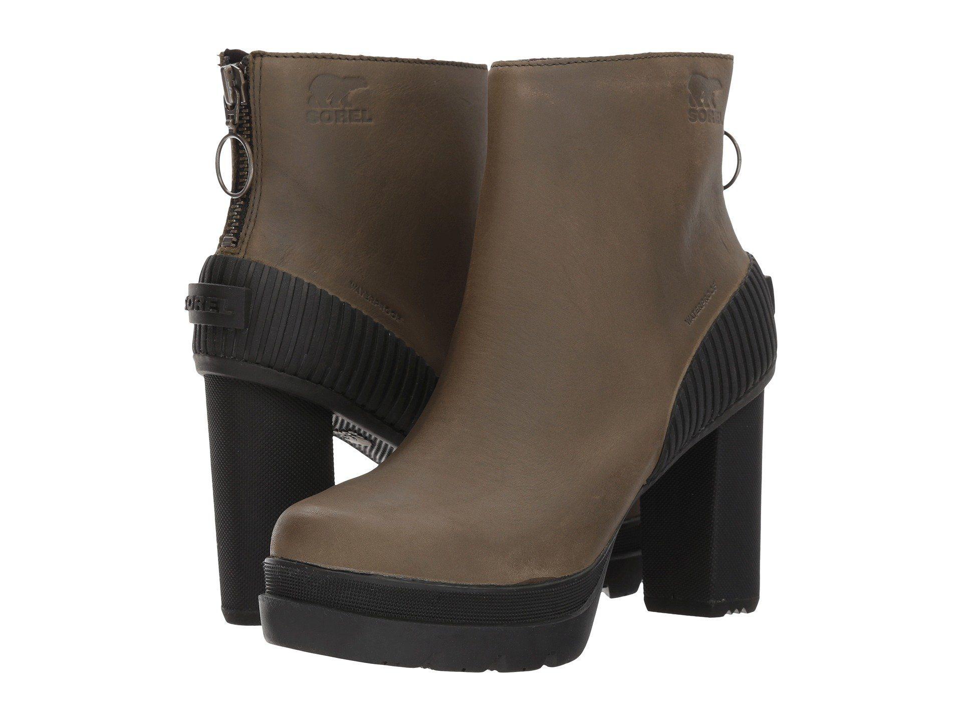Womens Boots Calvin Klein Grecia Black Kid Suede/Elastic