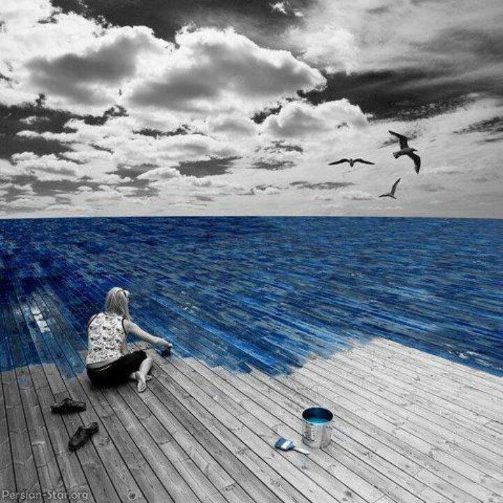 Özgürlük mavidir...